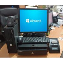 Kit Punto Venta Barato Pc Software Lector Miniprinter Cajon