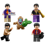 John Paul George Ringo Jeremy Beatles Compatible Con Lego