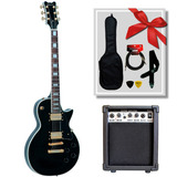 Guitarra Eléctrica Queen Slpc380 Tipo Lp + Amp. Scorpion G15