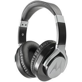 Fone Estéreo C/ Fio Original Moto Pulse Max Over Ear Preto