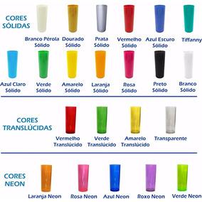 100 Copos Long Drink 350ml Liso Acrílico **promocao**