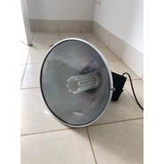 Luminária Industrial Com Alojamento Caixa Preta S/ Lâmpada