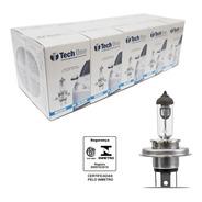 Lampada Halogena Techone H4 3000k 60/55w Caixa Com 10 Uni