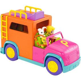 Carro De Acampar Polly Pocket - Mattel Dwb74