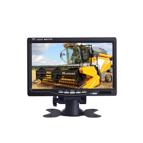 Tela Lcd E73 Portátil Monitor Veicular Digital 7 Polegadas