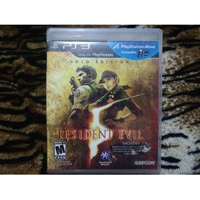 Jogo Ps3 Resident Evil 5 Gold Edition Mídia Física