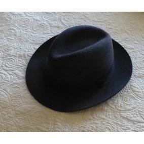 Sombrero De Fieltro Aleman Negro - Vestuario y Calzado en Mercado ... 5f343e97276