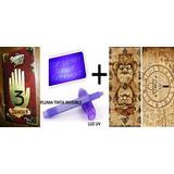 Diario 3 Gravity Falls + Luz Uv + Poster + Mapa