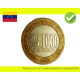 1000 Bolivares 2005 Moneda Venezuela Colección