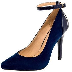 Zapatillas Damita Azul Para Dama Originales 76716