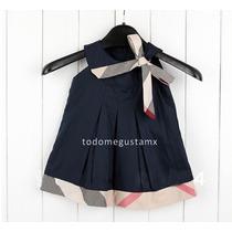 Hermoso Vestido Para Niña Bebe Fashion Tallas 3 A 24 Meses