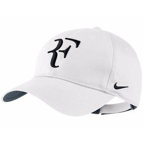 Gorra Tenis Nike Roger Federer Cod 100 Blanca Visera Gorro