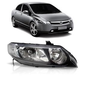 Farol New Civic Honda 2006 2007 2008 2009 2010 2011 Ld
