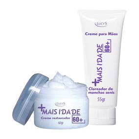 Creme Facial Kit Anti Idade Face Rosto Pele Facial