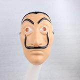 Mascara Dalí Plastico Duro Pvc, La Casa De Papel Nueva