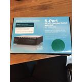 Cisco 5 - Port 10/100 Desktop Switch Sf 100d - 05 Nuevo