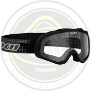 Oculos X-11 Mx 2 Trilha Preto Moto Cross