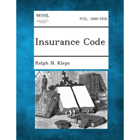 Livro Insurance Code Ralph N. Kleps