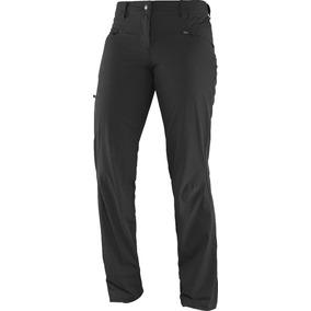 Pantalon Trekking Salomon Wayfarer Mujer Secado Rapido