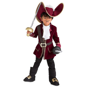 Disfraz Capitán Garfio Original Disney Store!
