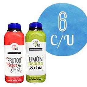 Chia Mia Fit 500 Ml Limón/pepino Y Frutos Rojos