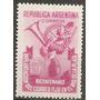 Argentina Gj 959 Serie Mt 497 Mint Año1948 Correo Fijo