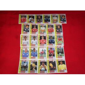 Tarjetas De Futbol / Futgolazo Bambino Lote De 26 Tarjetas