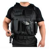 Colete Tatico Militar Segurança Policial Vigilante Airsoft