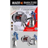 Mototurbina Aire Caliente Maer Tc802 - Compresores Temperley