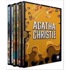 Coleção Agatha Christie Box 6 Hora Zero O Natal De Poirot