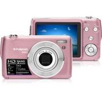 Câmera Dig. Polaroid Is829 Rosa16mp, Lcd 2,7 Zoom Óptico 8x