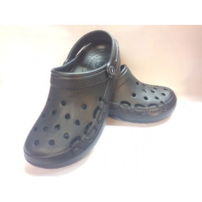 Cholas Rs21 Tipo Crooc Caballero Negras 39-43