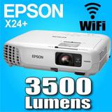 Proyector Epson Powerlite X24+ 3500 Lumen Wifi Xga Usb Hdmi