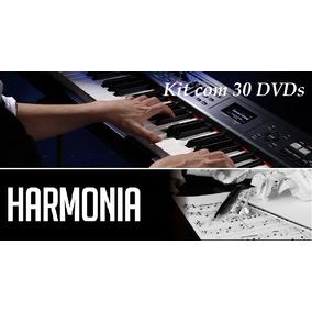 Curso De Teclado, Harmonia & Percepção (30 Dvds)