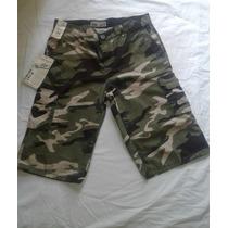 Bermuda Estilo Militar Para Caballero
