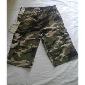Bermuda Estilo Militar Para Caballero Short Hombre Regalo