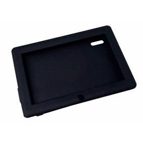 Capa De Silicone Preta Para Tablet 7 Polegadas Nova