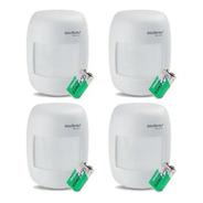 Kit Sensor Alarme Intelbras Sem Fio 04 Ivp 2000 Rf Infra