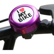 Buzina Campainha Alum. Trim Trim Infantil I Love My Bike