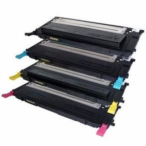 Combo C/4 Toner P/ Multifuncional Laser Color Clx-3185