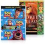 Coleção Disney - Pacote Com 6 Filmes Clássicos Da Disney!