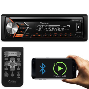 Aparelho Cd Player Pioneer Bluetooth Mp3 Usb Mixtrax