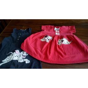 Vestidos 101 Dalmatas Marca Disney Original Talla 2