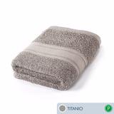 Toalla Ama De Casa Premium Mano 72x44 Cms Titanio Gris