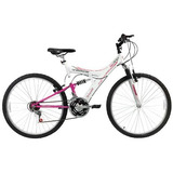 Bicicleta Track Tb200xs Aro 26 18 Marchas Dupla Suspensão -