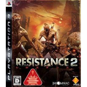 Jogo Resistance 2 - Ps3 Semi-novo Japonês