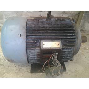 Motor Quemado Trifasico De 12 Hp De 3500 Rpm 220 / 440 Abb