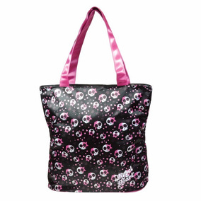Bolsa Universitária Tote Caveira Rebel Heart Ref. 5357