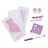 Juguete Barbie Y Diseño Juego De Vestido De Estudio Ruffler