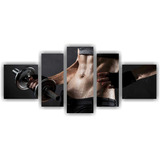 Quadro Decorativo Fitness Musculação Academia Interior